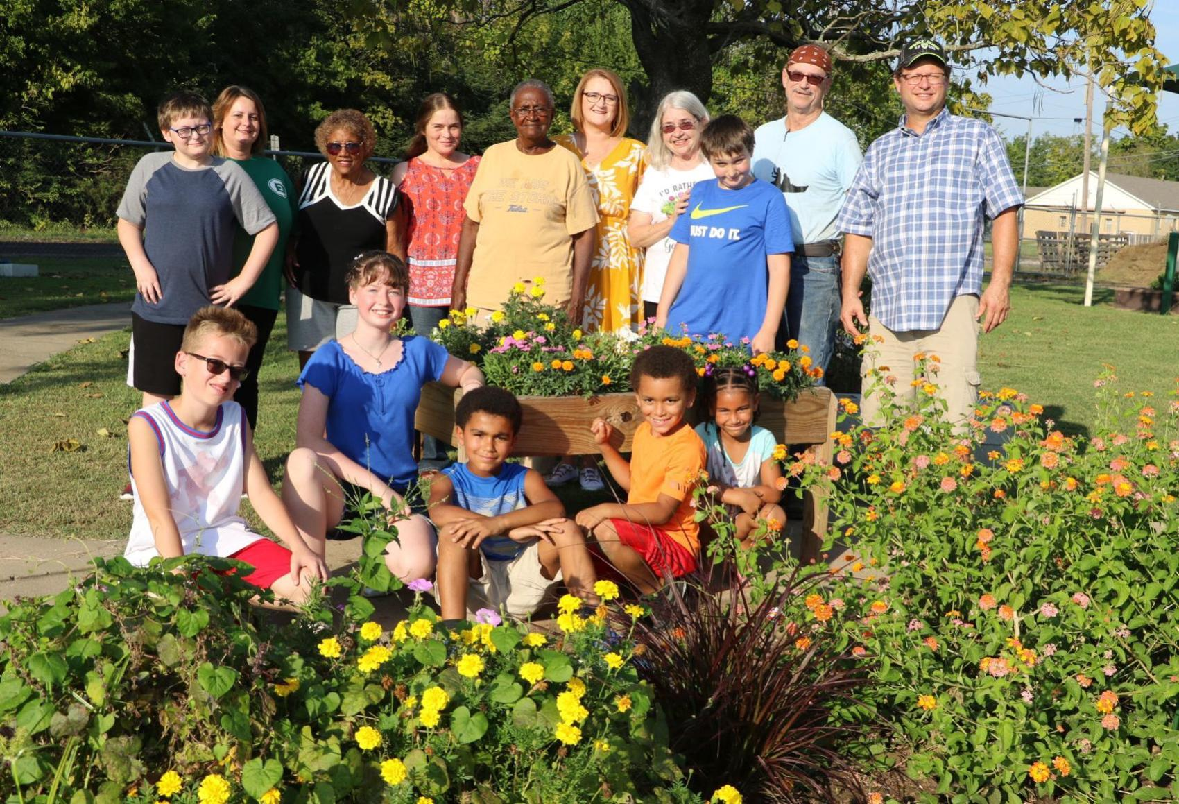 Brighter Futures garden project enhanced with TSET grant